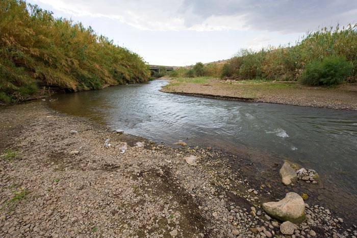 Jordan River, Naaman and pride